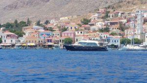 GV 1500 voor de Griekse kust